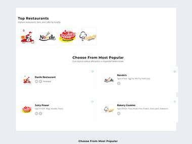 Online Food Develivery