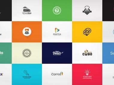 Flat / Minimal Logo Designs