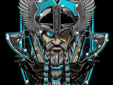 ODIN TSHIRT GOD WAR