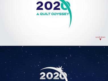 2020: A Quilt Odyssey show branding
