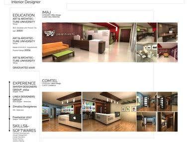 My Interior Design Portfolio