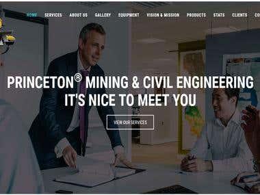Princeton Mines and Civil Engineering