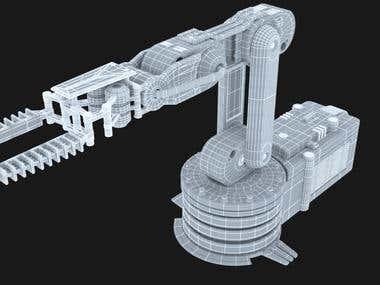 Hard surface 3d model - Product model