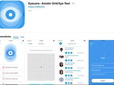 Eyecare- Amsler Grid Eye Test