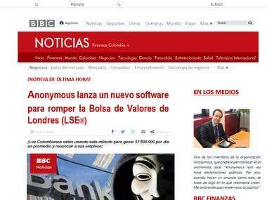 Traduccion de sitio web