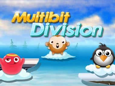 Education Game - Multibit Devision