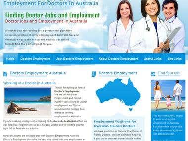 Doctors Employment Website