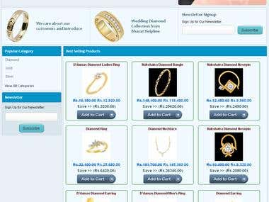 Online Shopping Jewellery