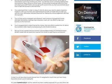Summit Leader Website