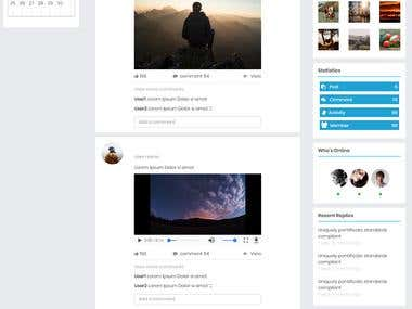 Laravel Website