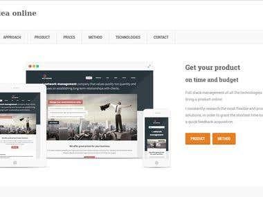sidari.it - Personal demo site