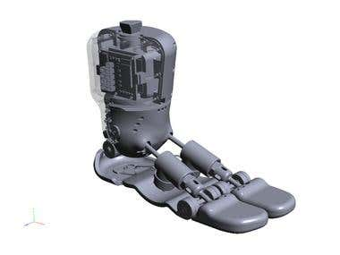 Microcontroller Prosthetic Foot Concept