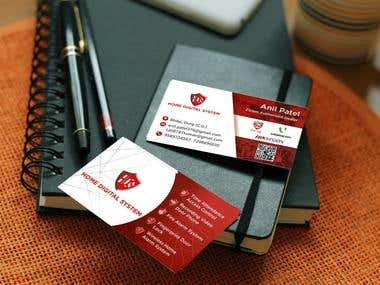 Business Card Design for HDS