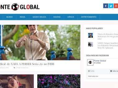 Ponte Global - news site