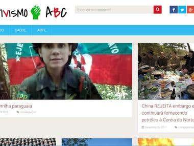 Ativismo ABC - Web Site
