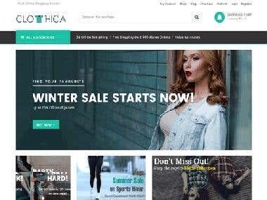 Onine Shopping Portal