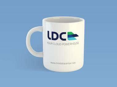 LDC logo, mockup