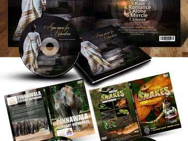CD, DVD Cover Designs