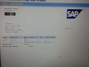 SAP ABAP Sample portfolio