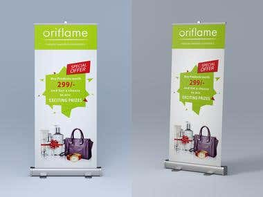 Roll-up Banner/ Standy