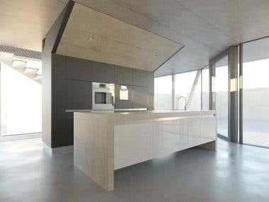 3d interior WIP
