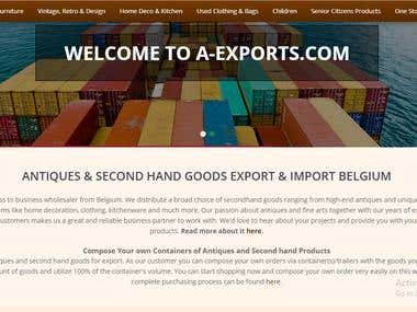 Multilingual Website Translation - 5 Languages A-xports.com