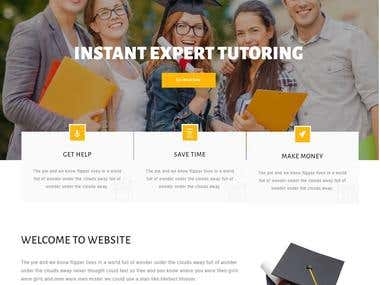 Teacher Freelancing Website