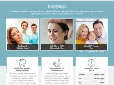 Dental Responsive WordPress website