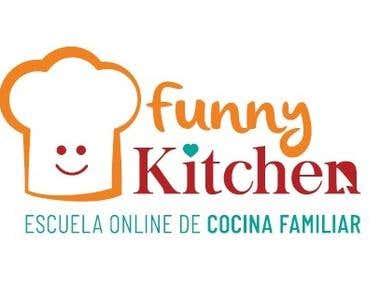 Análisis semiótico de logo de escuela de cocina online
