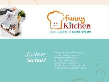 Comunicación de web Funny Kitchen