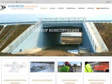 EURO ROAD Design Group - Web Design