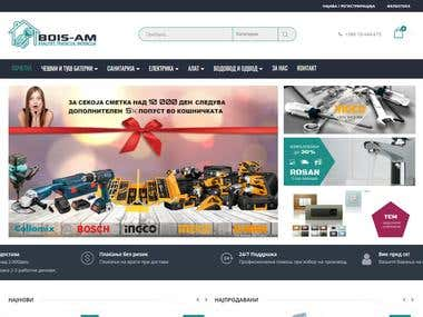 Bois-AM - Web Design