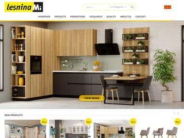Lesnina Mi - Web Design