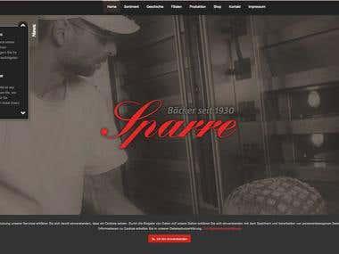 Backery Online Shop + CMS Blog