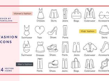 Fashion Icon Design