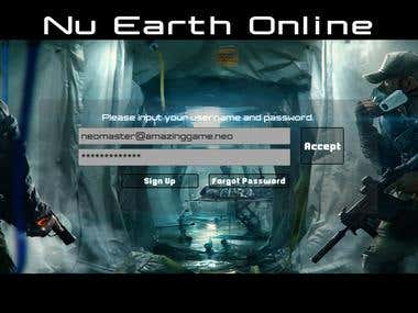 TPS Game - Nu Earth Online