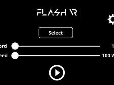 FlashR App