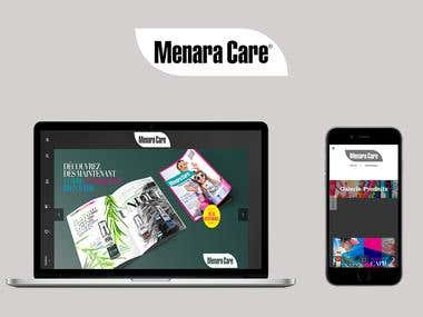 Menaracare: Online Shopping app with referrals