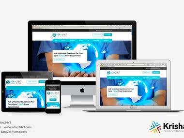 eDoc 24*7 Mobile App and Website