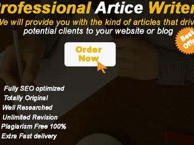 I Will Do SEO Optimized Article Writing In 24 Hours
