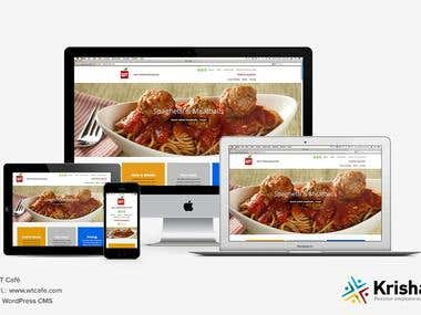 WtCafe Online Food Ordering Website and Mobile Apps