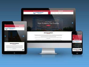 Website Mokeup Design