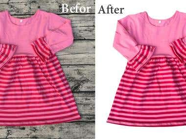 Kids Clothing Photo Retouch