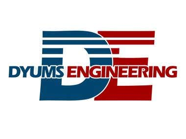 logo for Dyums Engineering