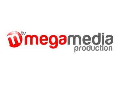 Logo for mega media