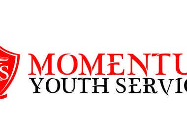 Logo for Momentum youth service