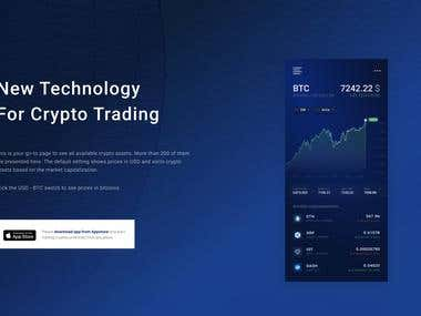 Cryptocurrencies Mobile Trading App