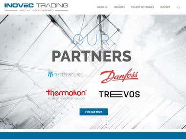 Inovec Trading - Web Design