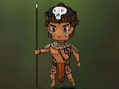 chibi style character