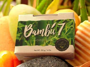 Bambú 7 Soap Co. Packaging